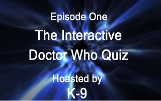 K-9 Doctor Who Quiz