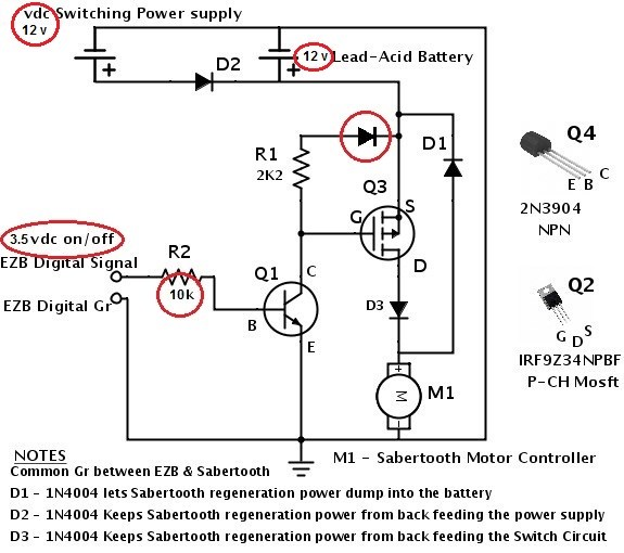 Sabertooth Synchronous Regenerative Properties - Questions ... on brushed motor speed controller, dual motor controller, dc motor controller, arduino bulldozer motor controller,
