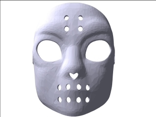 Jason Friday 13Th Face Mask