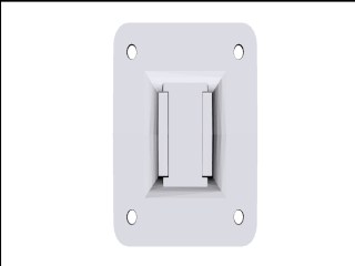 Female Clip'n'play Adapter Plate
