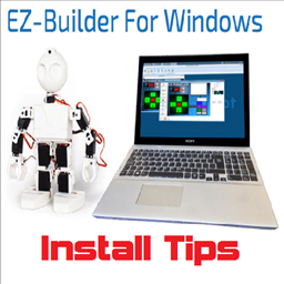 EZ-Builder Installation tips