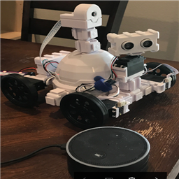 Using Amazon Echo (Alexa) as microphone for EZ-Robot