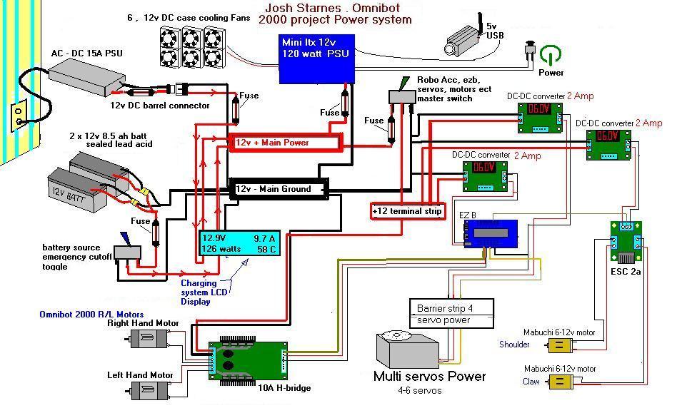 [SCHEMATICS_4JK]  12 Volt Charging And Autonomous Robot Power System - Questions - Community  - Synthiam   12 Volt Charging System Diagram      Synthiam
