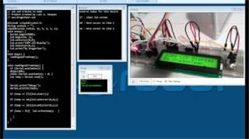 Luis's Lcd Display For Ezb4 - Using Arduino Mini As Controler