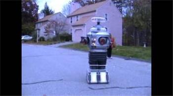 Gwen4156's The G-Bot (Gwen's B9 Robot Project) Gets His First Test Outside Fully Assmebled