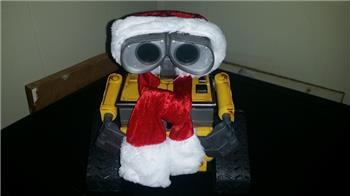 Jstarne1's Holiday Video U Command Wall-E And Sled Buildup