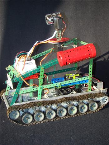JS1's Tracked Robot - New Project