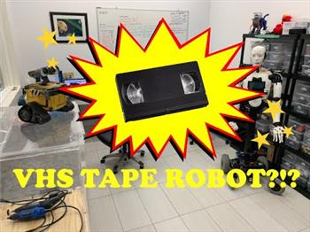 Jeremie's Ravage The VHS Tape Robot