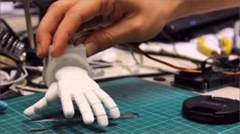 Miniture Robotic Hand