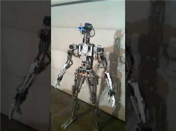 "Cliffordkoperski's ""HAL"" THE ROBOT  THAT WALKS AND TALKS"