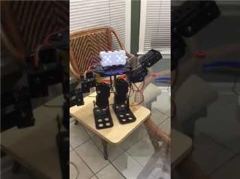 Ezang's My New Metal Robot With Voice Commands Update11/3/2019