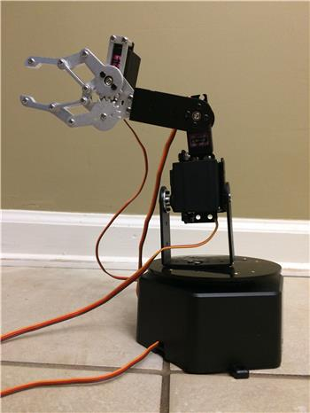 Ezang's My New Robot Arm On Ez- Builder - Video Next Week - He Has A Gripping Personality