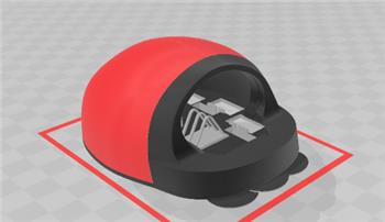 Jstarne1's Ladybug Lawn Mower 3D Designing The First 3D Print