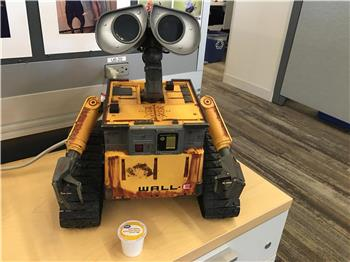 Jstarne1's 4 Sale- RARE HUGE Ultimate Wall-E. Excellent For A Synthiam Project Or Collectors Item :)