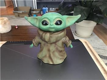 Perry's Baby Yoda Is Too Cute