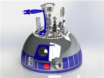 Dome Lift Mechanism R2D2