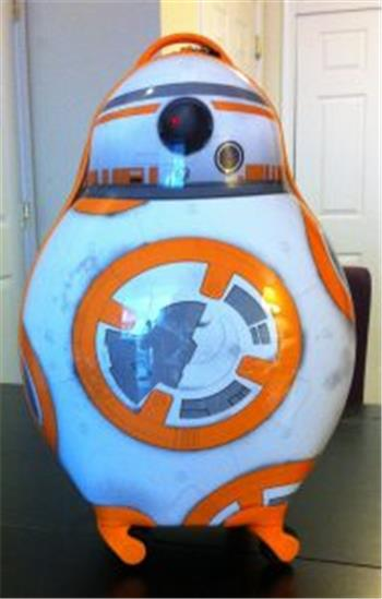 Ptp's Star Wars Bb-8 Robot Suitcase