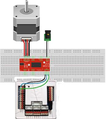 Easydriver And NEMA17 Stepper Motor