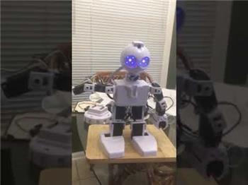 Ezang's Robot With Audio Voice Command And Audio Response