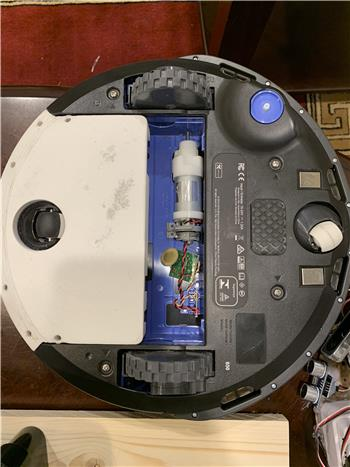 Adding The Caster And Extra Storage To Roomba
