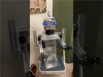 Ezang's Mr. Metal Again 2021 - Made From Servo City Parts - Sample Robot Voice