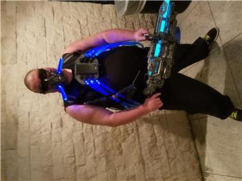 Jstarne1's Mr Freeze Costume Controlled By Android Phone Mobile App