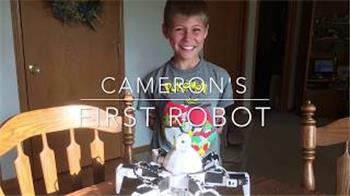 Cambot1's My Name Is Cameron, This Is My First Robot 6