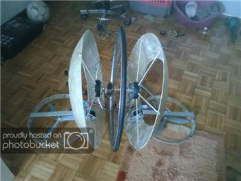 Hexxen's Zeus - A Monowheel Robot (Work In Progress)