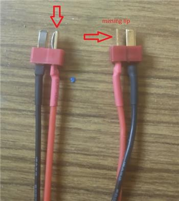 Warning Dean Connector