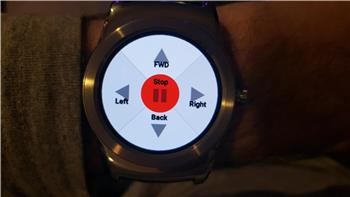 Controlling A Robot With Android Wear Smartwatch