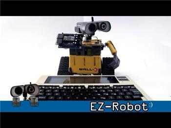 DJ's Trs-80 Model 100 Controlled Wall-E