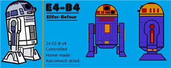 Steve's E4-B4 Build Diary. (R2-D2's Little Brother)