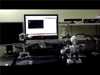Jd Humanoid Robot Controlled By Kinect