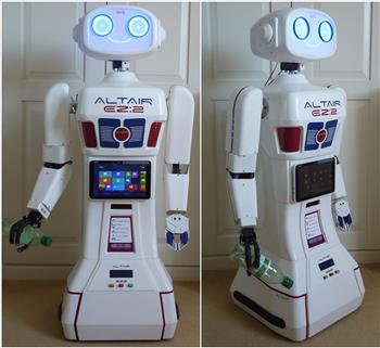 Toymaker's Introducing The Altair Ez:2 Robot