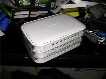 Jstarne1's Diy Awesome Project Case Made From Netgear Routers And Superglue