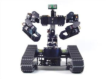 Ezb Controlled Lynxmotion Johnny Five Robot