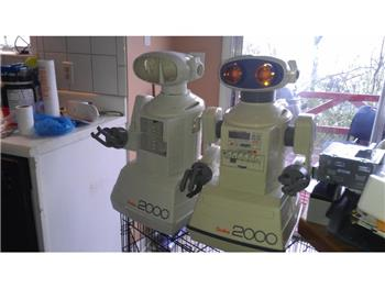 Omnibot 2000 Finished Bleached Results