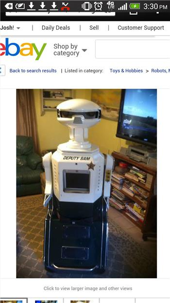 Want A Police Robot? Build Your Own Deputy Fife