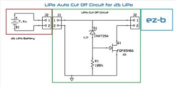 Lipo Battery Auto Cut Off
