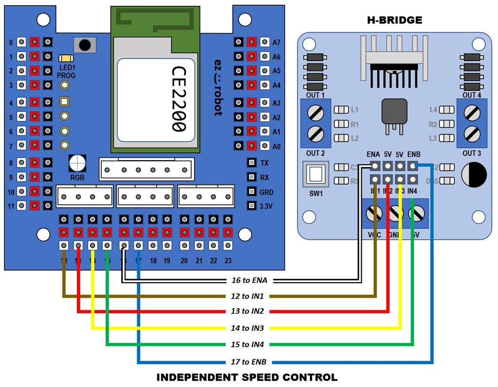 Setting Up L298n H Bridgethis Questions Synthiam Diagram Together With L298 Bridge Circuit Pin On User Inserted Image