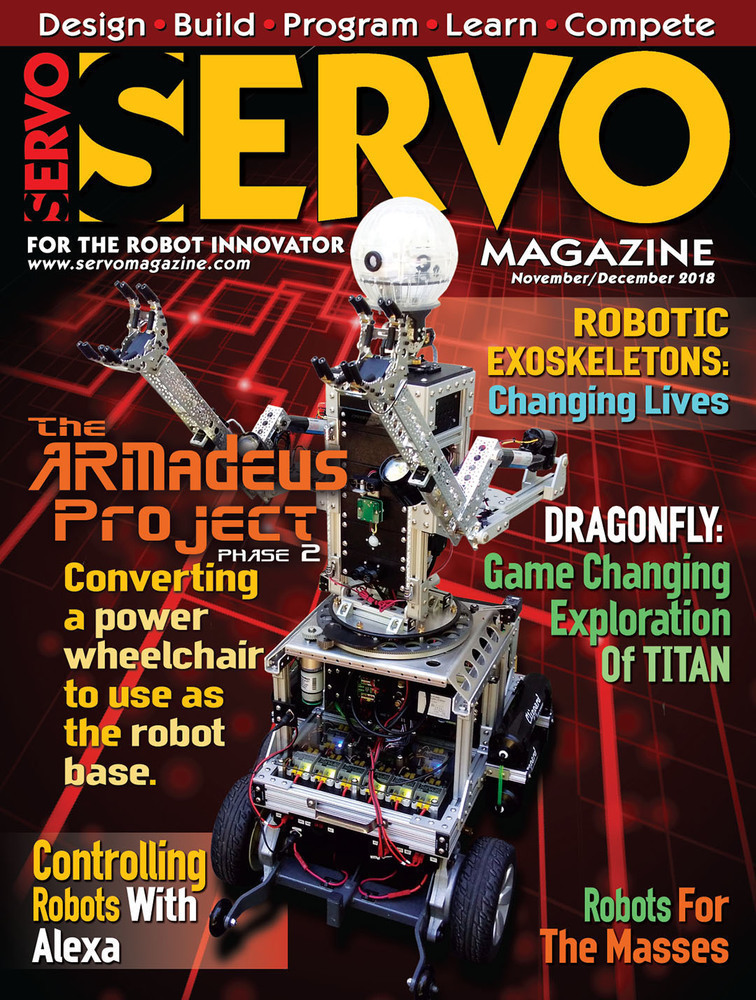 Congrats Jim For Being Featured On Servo Magazine Cover