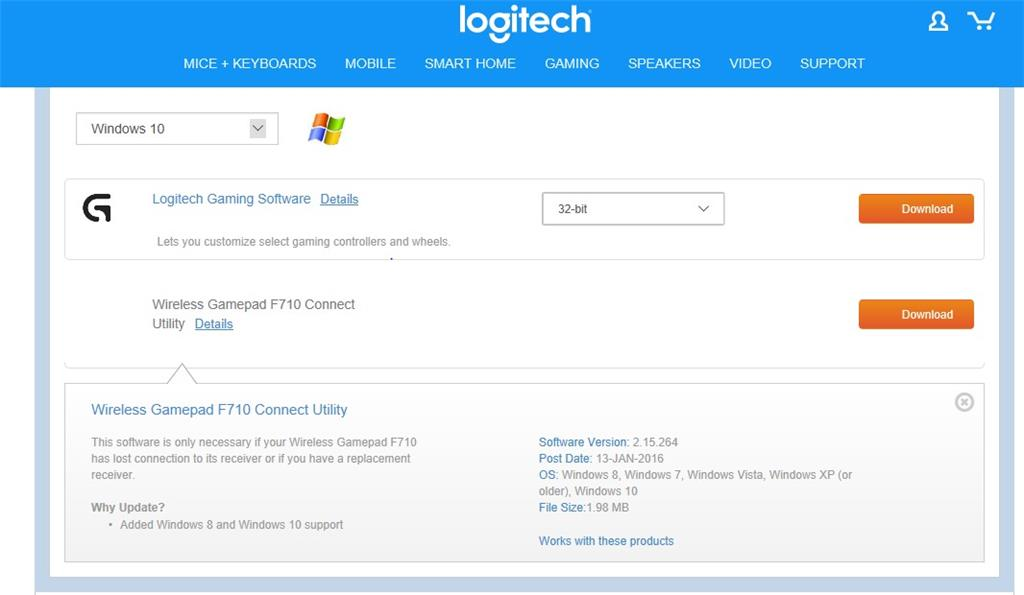 Have You Lost Your Connection To Your Logitech F710 Wireless